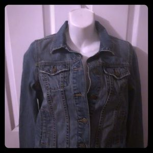 OLD NAVY denim blue jean jacket Size Small EUC